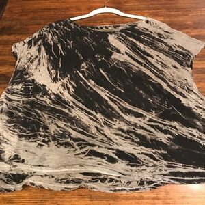 Enzo Costa L Black and Gray Shirt
